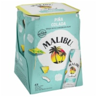 Malibu Pina Colada Cocktail - 4 pk