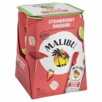 Malibu Strawberry Daiquiri Cocktail - 4 pk