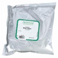 Frontier Herb Pepper White Fine Ground 40 Mesh - 1 lb