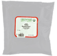 Frontier Ground Mustard Seed - 1 lb