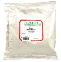 Frontier Organic Whole Brown Mustard Seed - 1 lb