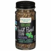 Frontier Organic Sweet Basil Leaf Flakes - .4 oz