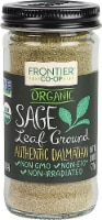 Frontier  Co-Op Organic Sage Leaf Ground - 0.8 oz