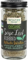 Frontier  Co-Op Organic Sage Leaf Rubbed