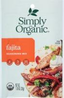 Simply Organic Fajita Seasoning Mix - 1 oz