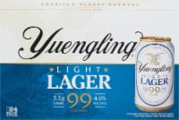 Yuengling® Light Lager - 24 cans / 12 fl oz