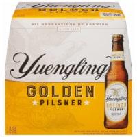 Yuengling Golden Pilsner Beer - 12 bottles / 12 fl oz