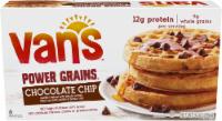 Van's Power Grains Chocolate Chip Waffles - 6 ct - 9 oz