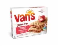 Van's Gluten Free PB&J Strawberry Sandwich Bars 5 Count