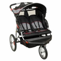 Baby Trend Expedition Swivel Travel Jogging Double Baby Stroller, Millennium - 1 Piece