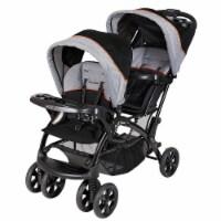 Baby Trend Sit N Stand Travel Toddler & Baby Double Stroller, Millennium Orange - 1 Unit