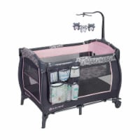 Baby Trend Trend-E Portable Nursery Center Play Yard with Wheels, Starlight Pink - 1 Piece