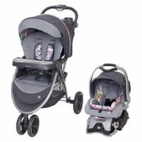 Baby Trend Sky View Plus Folding Infant Carseat Stroller Travel System, Bluebell - 1 Piece