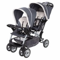 Baby Trend Sit N' Stand Easy Fold Travel Toddler Baby Double Stroller, Magnolia - 1 Unit