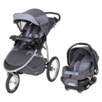 Baby Trend Expedition Race Tec Infant Baby Jogger Stroller Travel System, Gray - 1 Unit