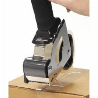 Safety Soft Touch Handheld Tape Dispenser,2 in Max T. W  D4140ABF - 1