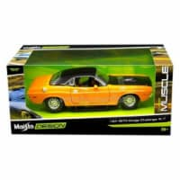 """1970 Dodge Challenger R/T Orange \Classic Muscle\ 1/24 Diecast Model Car  by Maisto"""""""""""" - 1"""