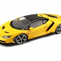 Maisto 38136Y Lamborghini Centenario Yellow Exclusive Edition 1 by 18 Diecast Model Car - 1