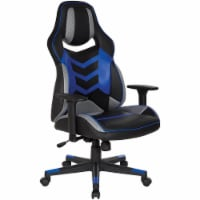 DesignLab ELM25BL Eliminator Gaming Chair Ergonomic - Blue - 1