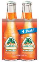 Jarritos® Mandarin Soda - 4 bottles / 12.5 fl oz