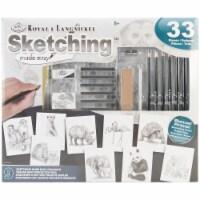 Royal Sketching Made Easy Box Set - 33 pc