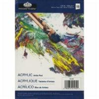 essentials(TM) Acrylic Artist Paper Pad 5 X7 -17 Sheets - 1