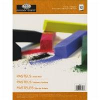 essentials(TM) Pastels Artist Paper Pad 9 X12 -12 Sheets - 1