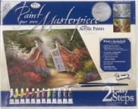 Acrylic Paint Your Own Masterpiece Kit 11 X14 -Garden Gate - 1