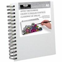 essentials(TM) Canvas Cover Sketchbook 4.1 X5.8 - - 1