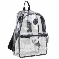 Eastsport Diamond Lashtab Black Trim Backpack - Clear - 1 ct