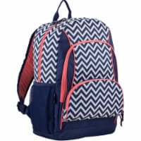 Fuel Triple Decker Backpack - Black/White Chevron - 1 ct