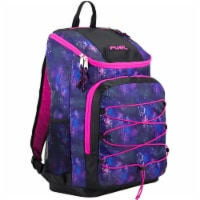 Fuel Wide Mouth Bungee Backpack - Galaxy