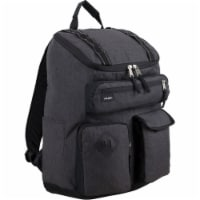 Fuel Wide Mouth Cargo Backpack - Black Chambray