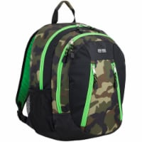 Eastport Active 2.0 Backpack - Camo/Lime Sizzle