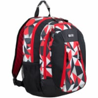 Eastsport Active 2.0 Backpack - Black/Poppy Red Geo
