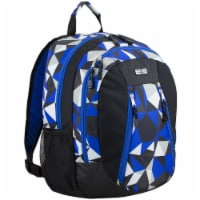 Eastsport Active 2.0 Backpack - Cobalt Splash/Clear Geo
