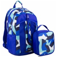 Fuel Deluxe Lunch Bag & Backpack Combo - Jagged Shapes - 1 ct