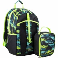 Fuel Deluxe Lunch Bag & Backpack Combo - Static Camo - 1 ct