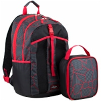 Fuel Deluxe Lunch Bag & Backpack Combo - Geometric Cracks - 1 ct