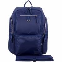 Bodhi Baby Lafayette Street Diaper Backpack - Deep Cobalt