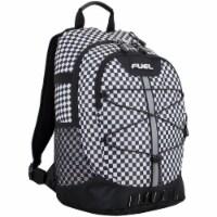 Fuel Checker Plaid Terra Sport Bungee Backpack