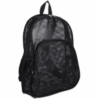 Eastsport Nylon Mesh Dome Backpack - Black