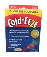 Cold-Eeze Cherry Flavored Cold Remedy Lozenges - Case Of: 6; Each Pack Qty: 10; Total Items - Case of: 6