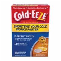 Cold-Eeze Cold Remedy Honey Lemon Lozenges
