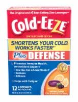 Cold-EEZE Cold Remedy Plus Defense Citrus with Elderberry Lozenges