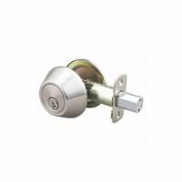 Ez-Flo Deadbolt,Steel,2-3/8  or 2-3/4  Backset  57781 - 1