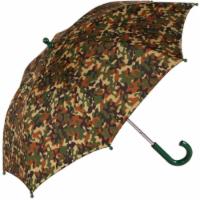ShedRain Kids' Camo Pattern Stick Umbrella - Green
