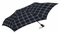 ShedRain Winston Print Compact Umbrella - Black/White