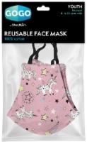 GoGo Youth Woven Cotton Reusable Face Mask