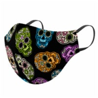 GoGo Adult Halloween Face Mask - Black